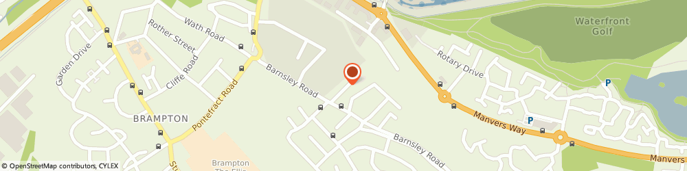 Route/map/directions to Wath Natural Stone Ltd, S63 6DT Rotherham, The Bungalow Hollowgate Avenue