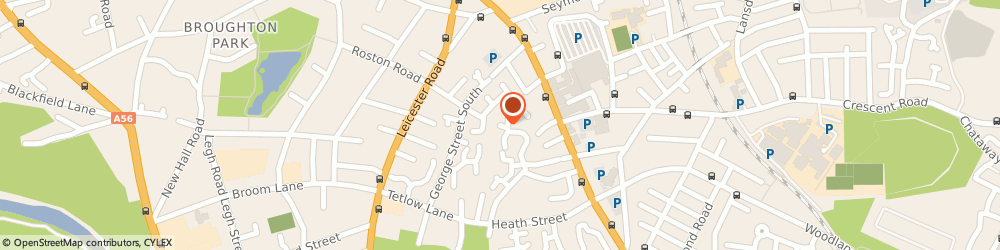 Route/map/directions to CMA BUSINESS LTD, M7 4PP Salford, 46 St. Heliers Drive
