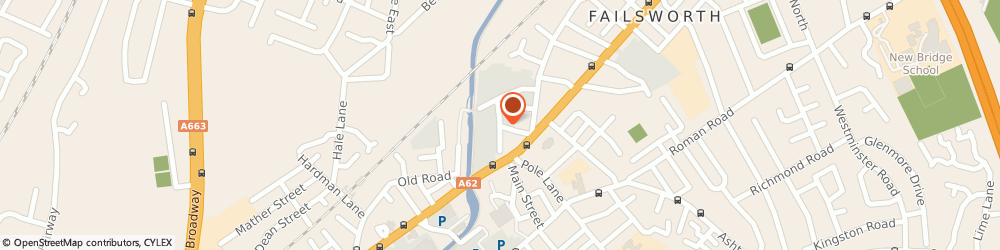 Route/map/directions to Strathmore MANCHESTER, M35 9BG Failsworth, 3RD FLOOR, IVY MILL, CROWN STREET