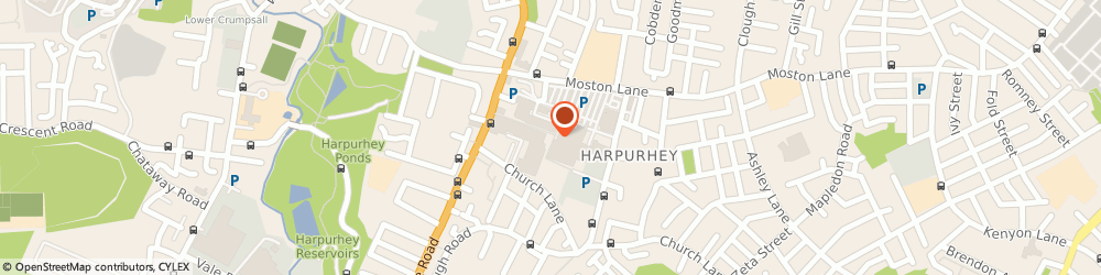 Route/map/directions to Manchester Social Services, M9 4DD Manchester, Harpurhey District Centre