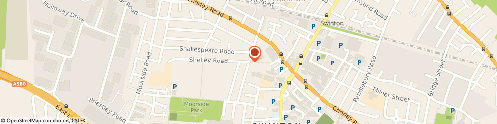 Route/map/directions to Safe Gas UK Ltd, M27 0WE Manchester, 14 Lower Sutherland St