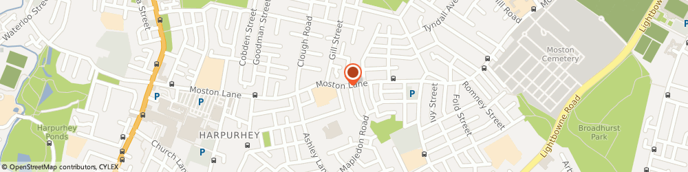 Route/map/directions to Upm United Property Management Ltd, M40 9NS Manchester, 218 Moston Ln
