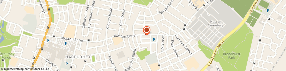 Route/map/directions to BANK OF SCOTLAND ATM - Manchester, M40 9WB Manchester, 276 Moston Lane