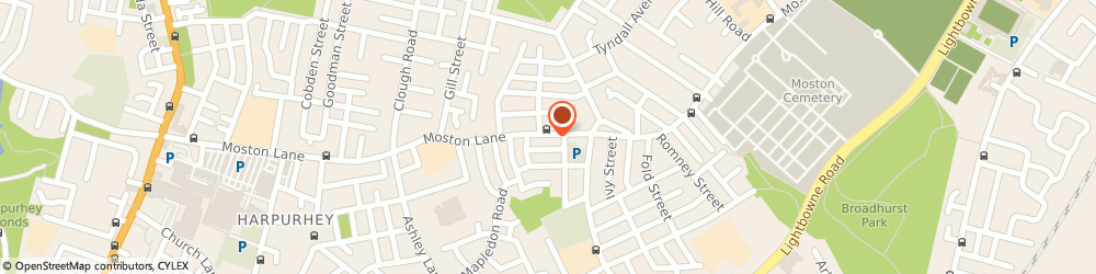 Route/map/directions to Right Conclusion Ltd, M40 9WB Manchester, 290 Moston Lane