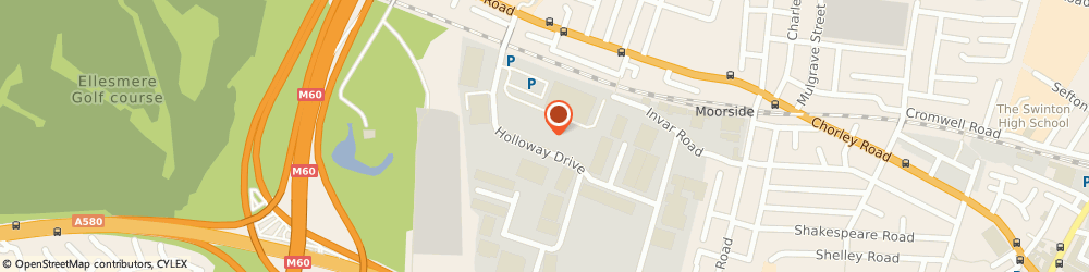 Route/map/directions to Howdens  - Wardley, M28 2LA Manchester, Unit 12, Holloway Drive