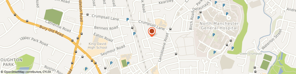 Route/map/directions to Crumpsall Carpet & Suite Cleaning, M8 5SW Manchester, 23 Hermitage Road