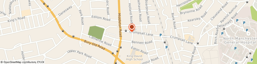 Route/map/directions to Admiral Carpet Care, M8 5FB Manchester, 10 Crumpsall La