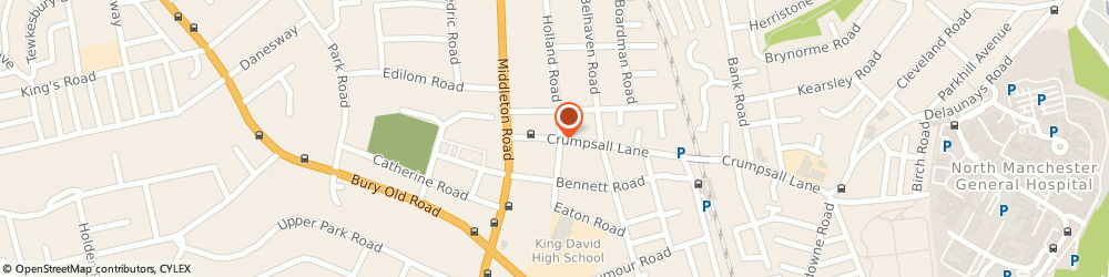Route/map/directions to Commercial Insurance Services Manchester Ltd, M8 5FB Manchester, 10 Crumpsall Lane