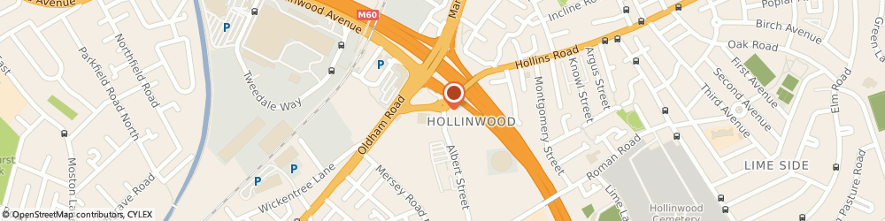 Route/map/directions to Advantis Home Maintenance Ltd, OL8 3QL Oldham, ALBERT STREET