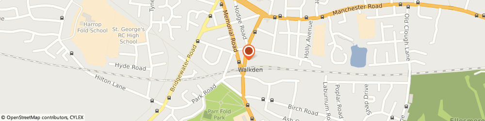Route/map/directions to ARC Car Wash, M28 3DS Manchester, Walkden Road