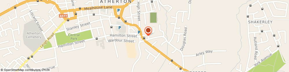 Route/map/directions to Atherton MOT Centre, M46 9GR Manchester, 1 Kay Street