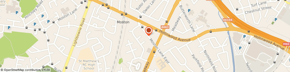 Route/map/directions to Excel Care (UK) Limited, M40 3HY Manchester, 201-203 Moston Lane East