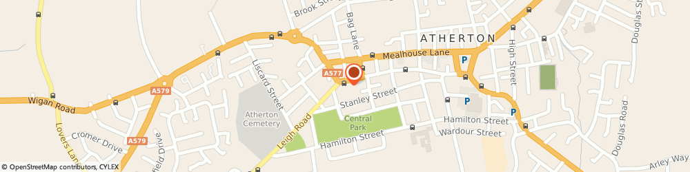 Route/map/directions to Mend It Repairs, M46 0DX Manchester, 138 Market Street, Atherton