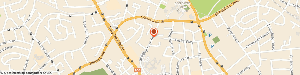 Route/map/directions to GW Plumbing & Heating, M25 0BJ Manchester, 19 Sedgley Park Rd