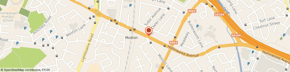 Route/map/directions to Northern Rail - Moston station, M40 0JT Manchester, Hollinwood Avenue