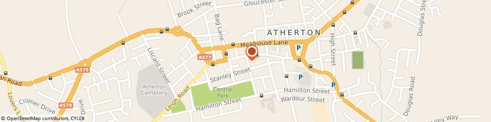 Route/map/directions to Briarcroft Vauxhall Centre, M46 0AE Manchester, 1 Morley St, Atherton