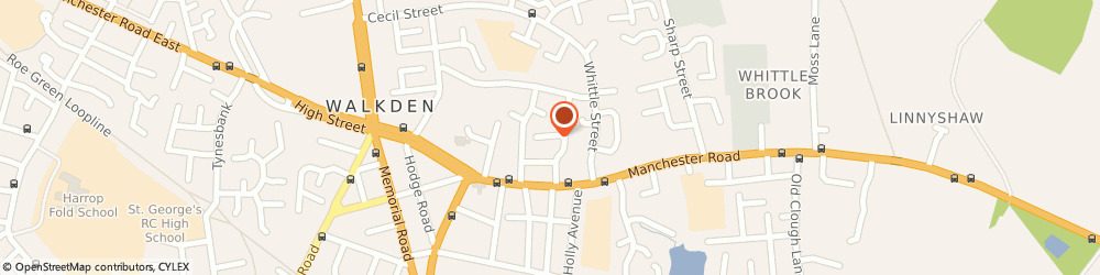 Route/map/directions to SGF Flooring, M28 3LG Manchester, 25 Trinity Crescent
