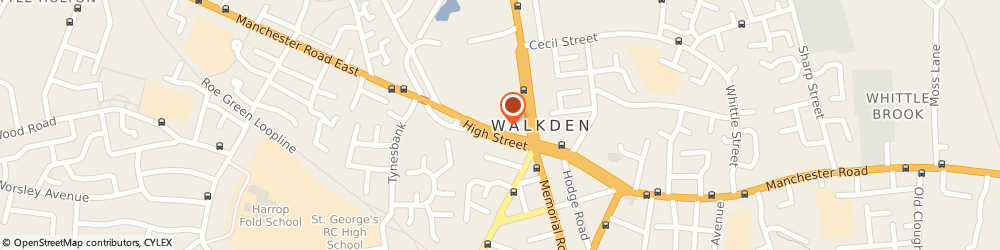 Route/map/directions to Champion Insurance Brokers Limited, M28 3NJ Worsley, 1 Worsley Court, High Street