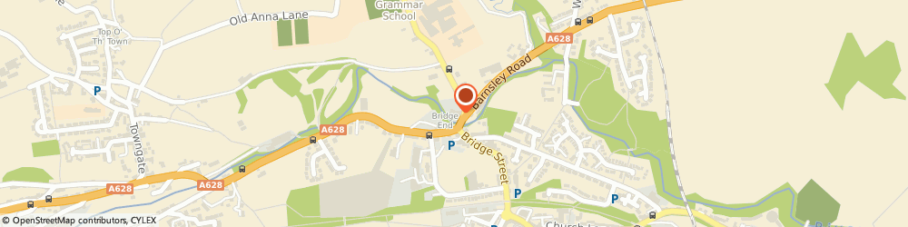 Route/map/directions to Eco Thermal Design Ltd, S36 7AH Sheffield, Bridge End