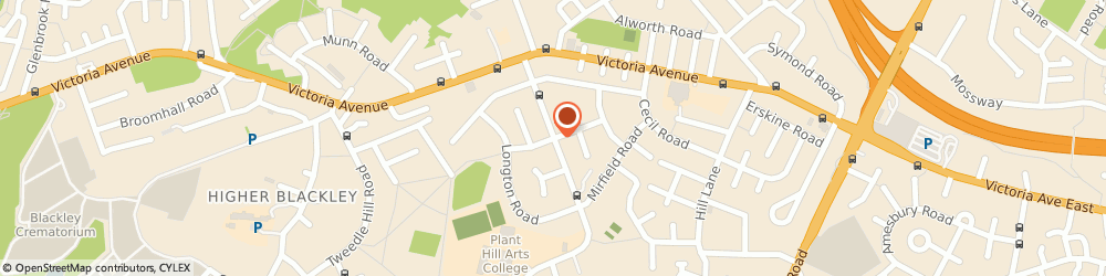 Route/map/directions to RD Electrical, M9 6NJ Manchester, 7 Hendon Road