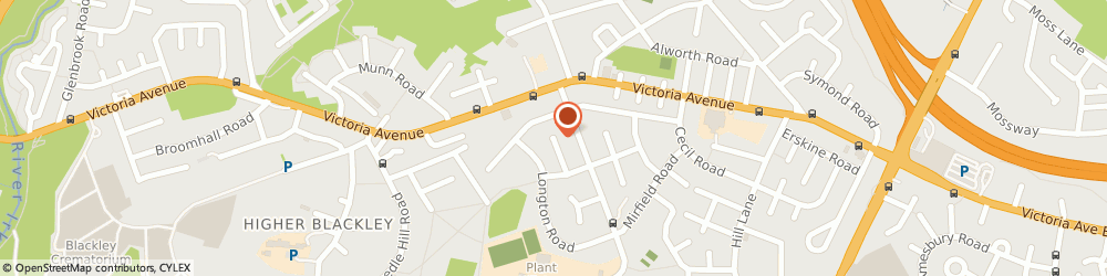 Route/map/directions to Vickers Electrical, M9 6WF Manchester, 2 TWEEDALE AVE