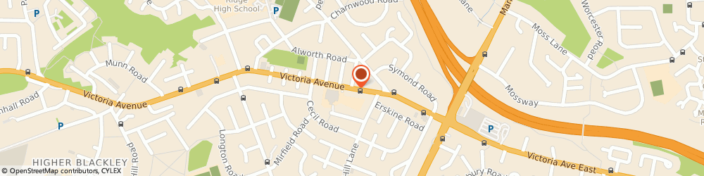 Route/map/directions to Epos Direct, M9 0RD Manchester, 67, Victoria Avenue