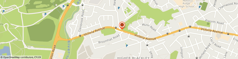Route/map/directions to D W Electrical, M9 0QH Manchester, 382 VICTORIA AVENUE