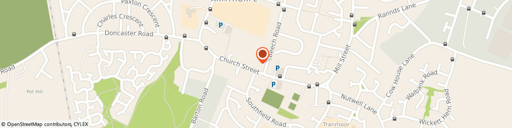 Route/map/directions to Belvoir Estate and Letting Agents Doncaster, DN3 3FL Armthorpe, 2 Croft Court, Church Street
