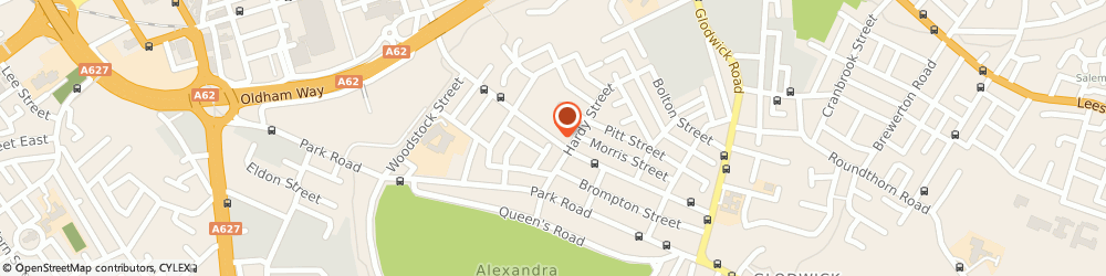 Route/map/directions to Post Office Limited, OL4 1EN Oldham, 157 Waterloo Street