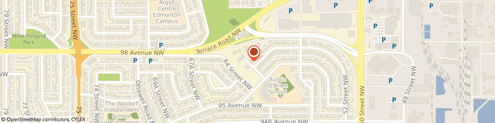 Route/map/directions to Praxair Distribution Inc., T6B 3M9  Edmonton, 9810 62 Avenue Nw