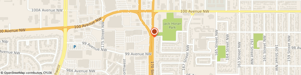 Route/map/directions to Shoe Company, T5T 6G7 Edmonton, 9938 170 STREET NW