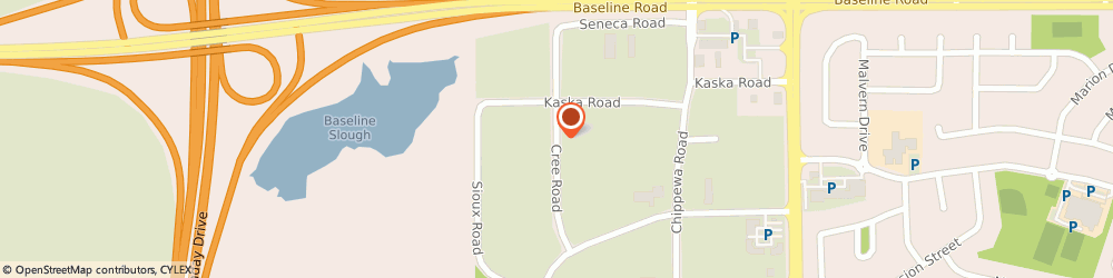 Route/map/directions to General Mills Bakeries & Food, T8A 3X8 Sherwood Park, 246 CREE RD