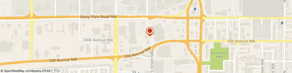 Route/map/directions to Moores Clothing for Men, T5S 2S2 Edmonton, 17512-100 Avenue Nw