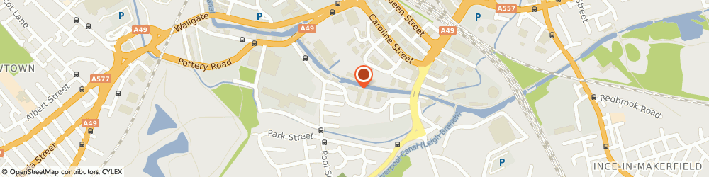 Route/map/directions to Express Mortgage Services Ltd, WN3 5BA Wigan, 2nd Floor, Wigan Investment Centre