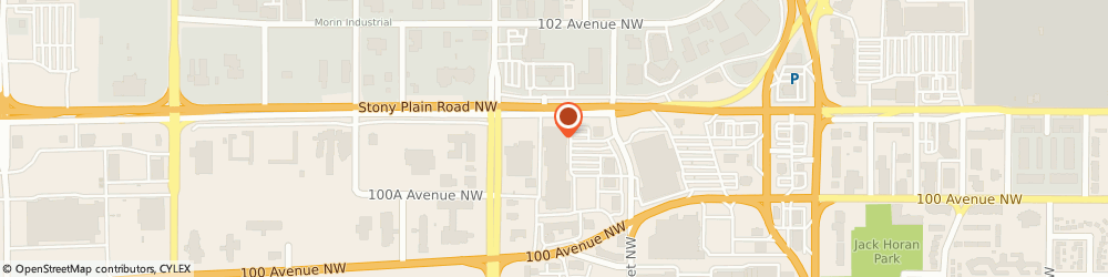 Route/map/directions to Geek Squad, T5S 2S1 Edmonton, 17539 Stony Plain Rd. NW