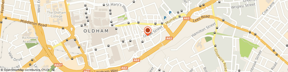 Route/map/directions to GMB, OL1 1DN Oldham, 108 Union St