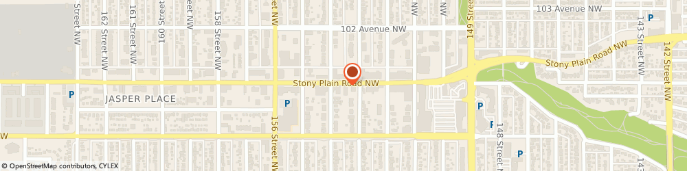 Route/map/directions to Gold'N Loan Pawnshop Ltd, T5P 3Y6 Edmonton, 15311 Stony Plain Rd NW
