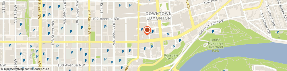Route/map/directions to Skywatch Security and Automations Ltd, T5J 3R8 Edmonton, 10060 Jasper Ave