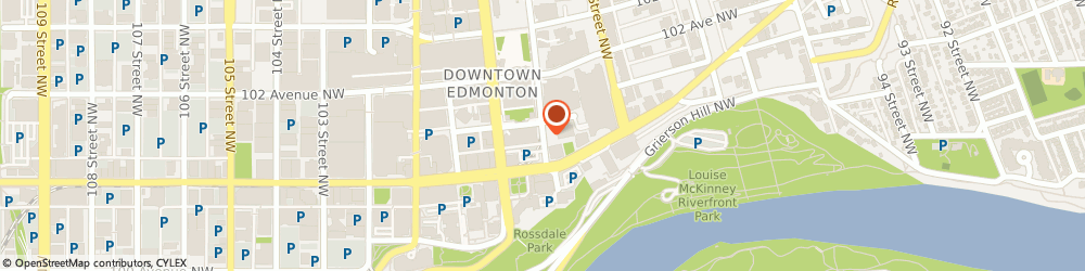 Route/map/directions to Hunter Douglas Dr Optometrist, T5J 3H1 Edmonton, 10123 99 STREET NW
