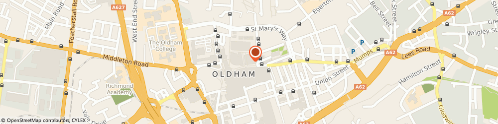 Route/map/directions to Parliament Square Cafe & Deli, OL1 1JA Oldham, 30-34 High Street