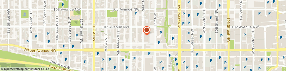Route/map/directions to Blinds For Your Home, T5K 1M1 Edmonton, 10139 112 St NW
