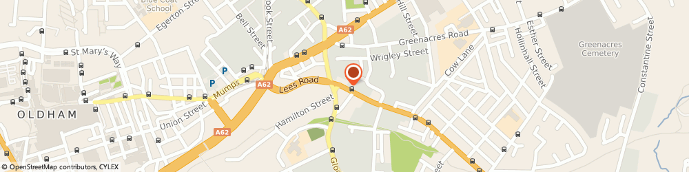 Route/map/directions to The Living Reef, OL4 1JW Oldham, 83 Lees Road