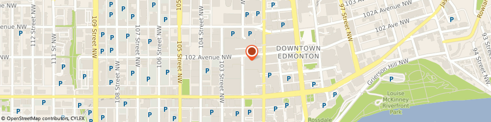 Route/map/directions to RBC Royal Bank of Canada, T5J 3S4 Edmonton, 10180 101 St Nw