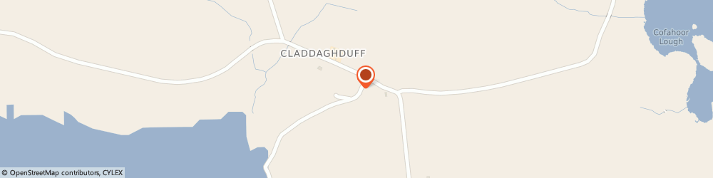 Route/map/directions to SEASIDE NURSERY & GARDEN CENTRE, H71 Clifden, Claddaghduff