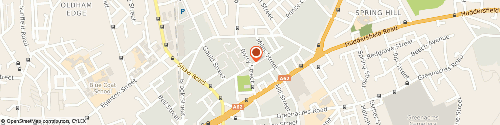 Route/map/directions to Ambience Interiors, OL1 3NE Oldham, Unit 63, Barry St