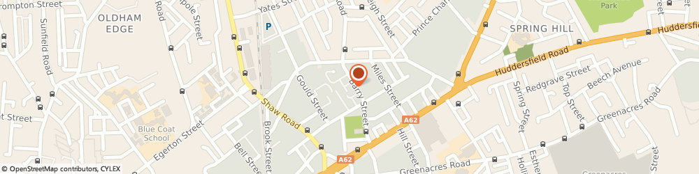 Route/map/directions to Acorn Coffee Shop, OL1 3NE Oldham, Unit 91 The Acorn Centre Barry Street