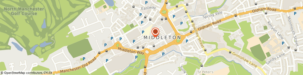 Route/map/directions to Hairtek, M24 1AB Manchester, 43a Middleton Way