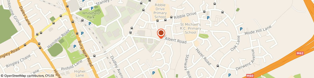 Route/map/directions to D&D Car-Ology, M45 8EH Manchester, Unit 3-5 Albert Close