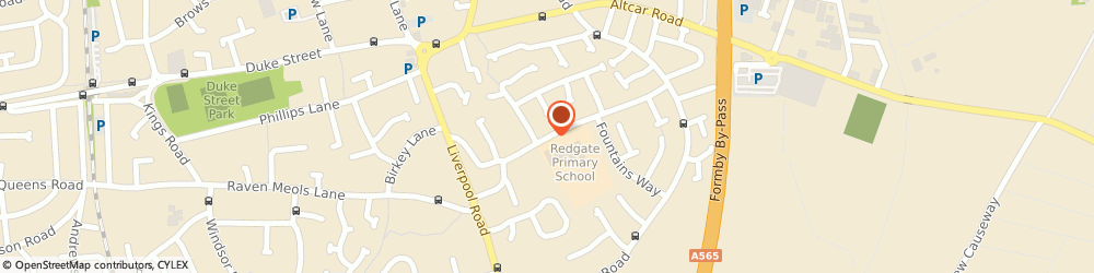 Route/map/directions to Priory Kitchen Catering, L37 4EN Liverpool, 15, REDGATE