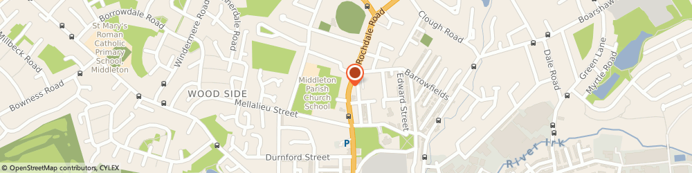Route/map/directions to Pout Aesthetics Ltd, M24 6DP Manchester, Rochdale Rd